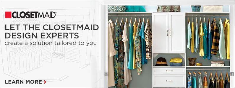 Give your closet a makeover with ClosetMaid
