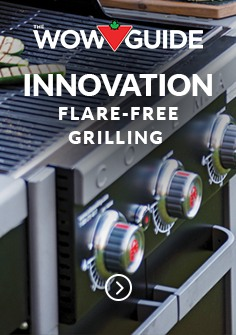 INNOVATION FLARE-FREE GRILLING