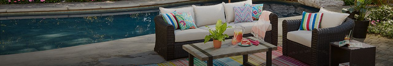 CANVAS Patio Collection - It's too nice to stay inside.