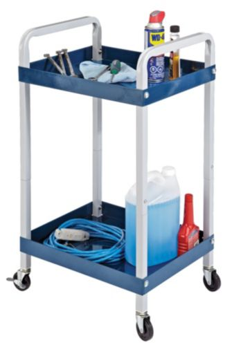Certified Rolling Auto Service Cart, 200-lbs