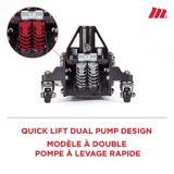 MotoMaster Hybrid Aluminum & Steel Garage Jack, 1.5-Ton   MotoMasternull