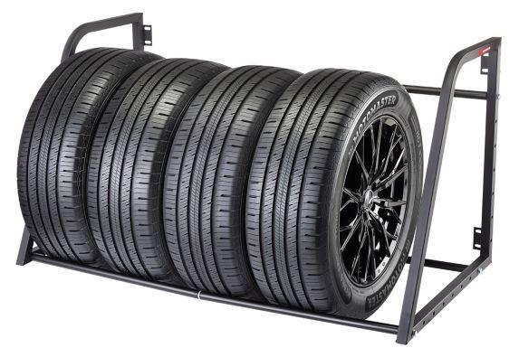 MotoMaster Wall Mount Tire Rack, 375-lb