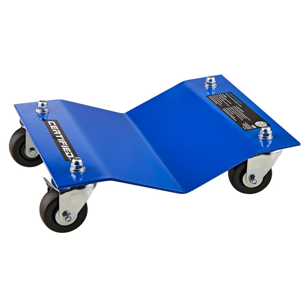 Motomaster Wheel Dolly Set, 2500-lbs
