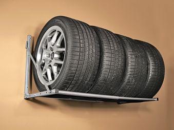MaxWorks Foldable Tire Rack, 300-lbs