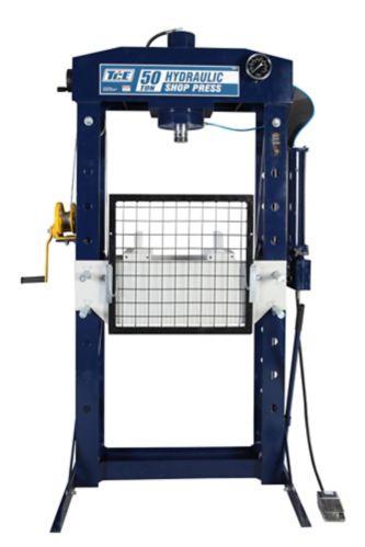 Presse d'atelier hydraulique/pneumatique prof. TCE, 50 t