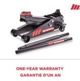 MotoMaster Standard-Duty Garage Jack, 3-Ton | MotoMaster | Canadian Tire