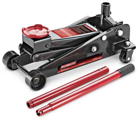 MotoMaster Classic Steel Garage Jack, 3-Ton