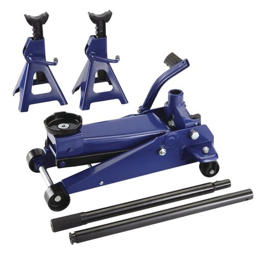 Certified Jack & Axle Stand Kit, 3-Ton