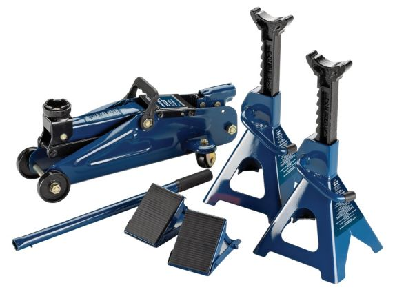 Certified Jack and Stand Kit, 2-Ton