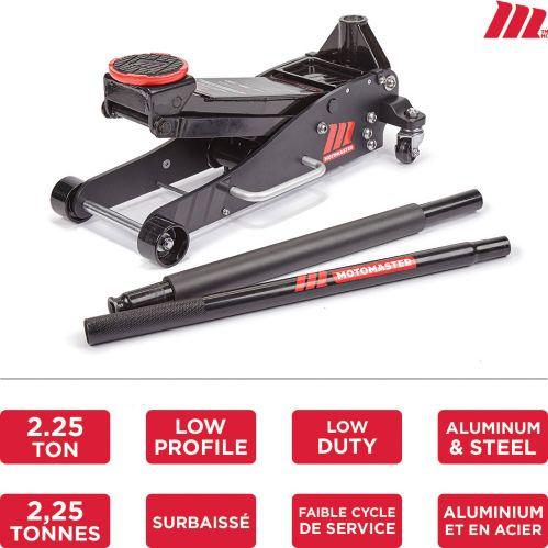 MotoMaster Hybrid Aluminum & Steel Garage Jack, 2.25-Ton Product image
