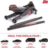 MotoMaster Low Profile Aluminum & Steel Quick Lift Jack, 2.25-Ton | MotoMaster | Canadian Tire