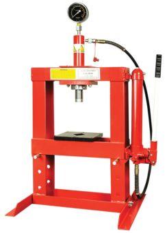MotoMaster Shop Press, 10-Ton