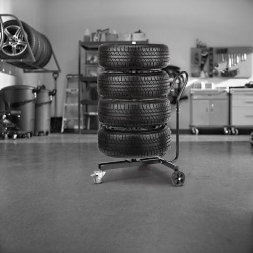 Support mobile MotoMaster pour pneus