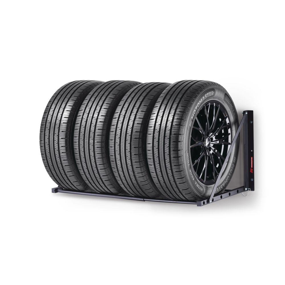 MotoMaster Foldable Tire Rack, 300-lb