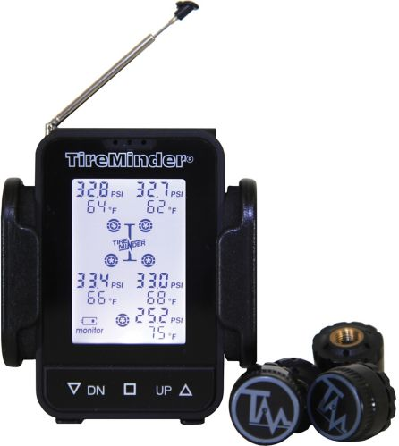 TireMinder TM55c-A Tire Pressure Monitoring System (TPMS) with Aluminum Transmitters