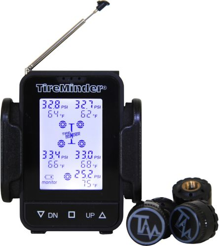 TireMinder TM55c-B Tire Pressure Monitoring System (TPMS) with Brass Transmitters
