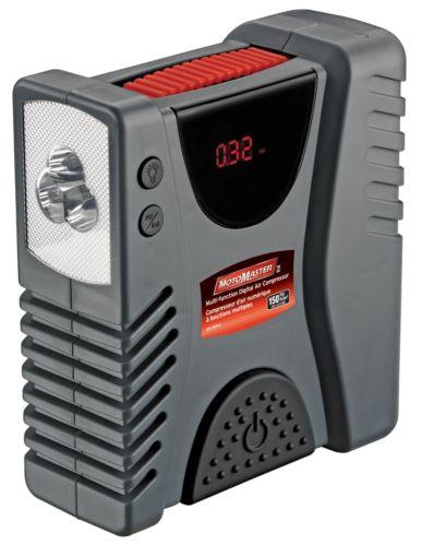 MotoMaster 12V Multifunction Digital Air Compressor