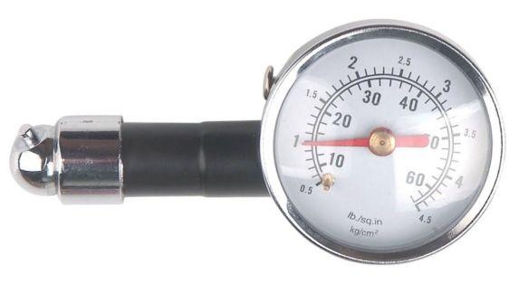 Manomètre à cadran Tire Fix, 10 à 60 lb/po²