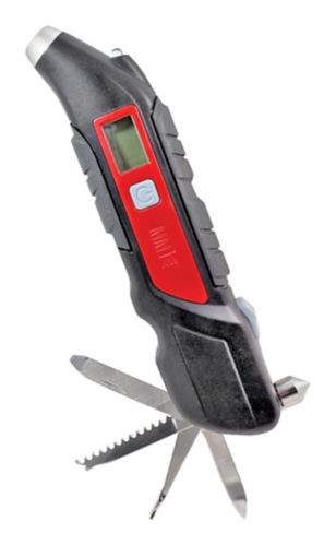 MotoMaster Digital Tire Gauge with Multi-Function 5-99 PSI