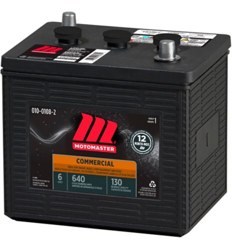 MotoMaster Group 1 6-Volt Commercial Battery