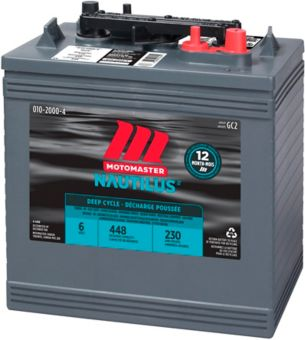 MotoMaster Group GC2 6-Volt Deep Cycle Golf Cart Battery