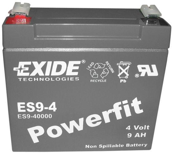Batterie au plomb-acide scellée 4 V 9 Ah