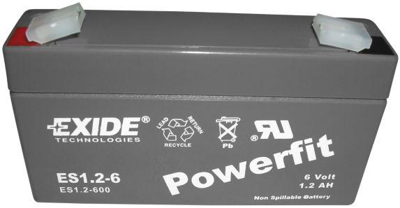 Batterie au plomb-acide scellée 6 V 1,2 Ah