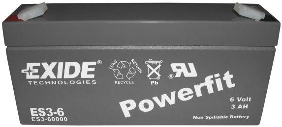Batterie au plomb-acide scellée 6 V 3 Ah