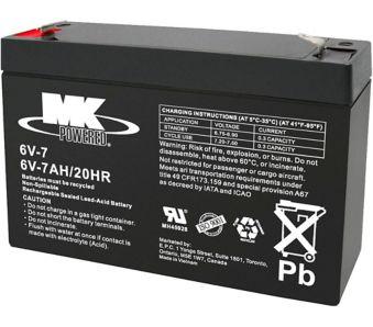 6-Volt 7AH SLA Battery | Canadian Tire
