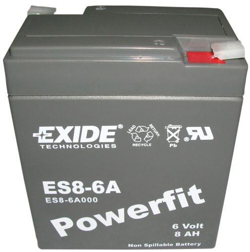Batterie au plomb-acide scellée 6 V 8 Ah