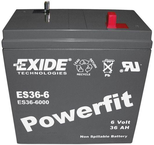 Batterie au plomb-acide scellée 6 V 36 Ah