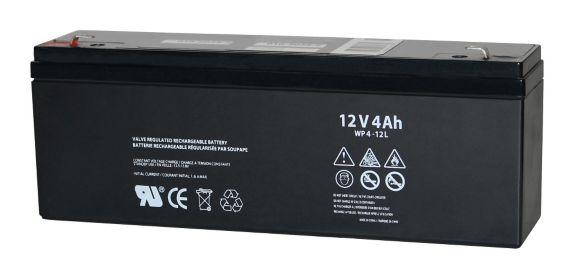 Batterie au plomb-acide scellée, 12 V, 4 Ah