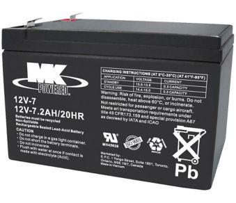 12-Volt 7 2AH SLA Battery