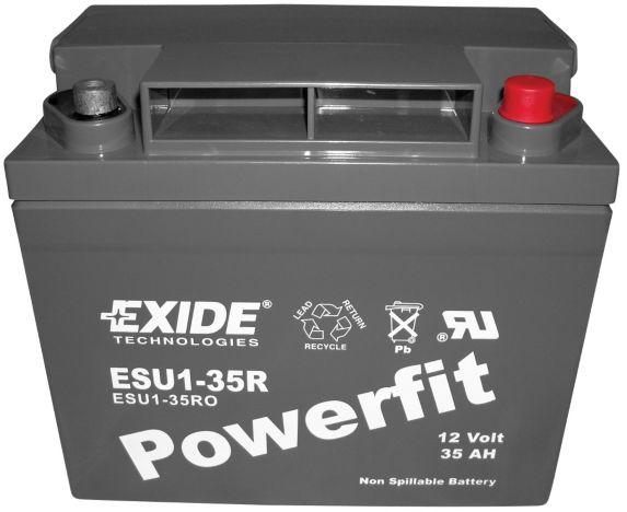 Batterie U1 au plomb-acide scellé, groupe U1, 12 V, 35 Ah