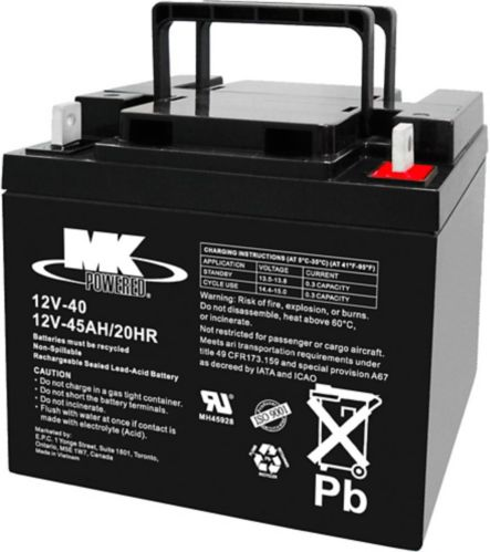 12-Volt 45AH SLA Battery