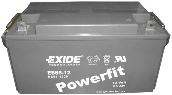 Batterie au plomb-acide scellée 12 V 65 Ah