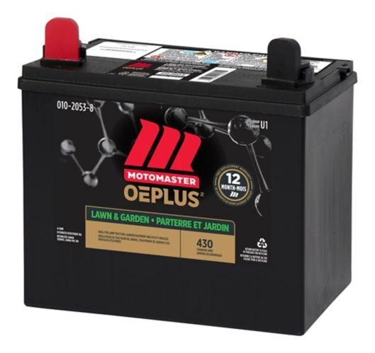 MOTOMASTER OEPLUS Group Size U1 Small Engine Battery, 350 CCA