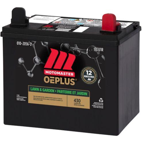 Batterie Motomaster Eliminator groupe U1R, parterre et jardin, 350 CCA