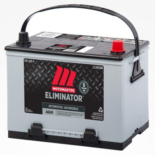 Batterie MotoMaster Eliminator AGM, groupe 24F, 750 ADF Image de l'article
