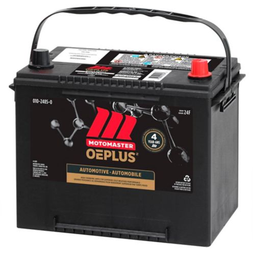 MOTOMASTER OEPLUS Group Size 24F Battery, 725 CCA