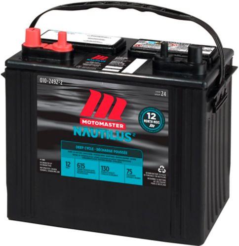 MOTOMASTER NAUTILUS Group Size 24 Deep Cycle Battery Product image