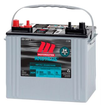 MotoMaster Nautilus Ultra Group 24 AGM Deep Cycle Battery
