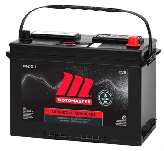 MOTOMASTER Group Size 27F Battery, 710 CCA