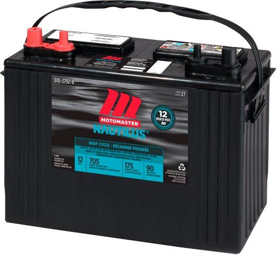 Batterie à décharge profonde Motomaster Nautilus, groupe 27