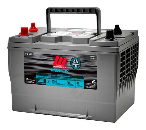 Batterie décharge poussée MotoMaster Nautilus UltraXD 27 AGM