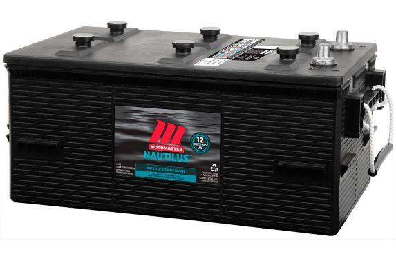 Batterie à décharge poussée MotoMaster Nautilus groupe 8D