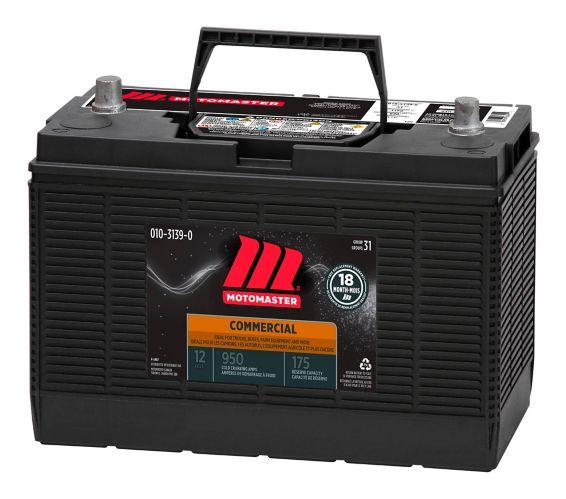 MotoMaster Group 31 12-Volt Commercial Battery
