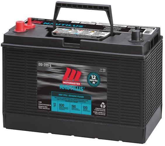 MOTOMASTER NAUTILUS Group Size 31 Deep Cycle Battery Product image