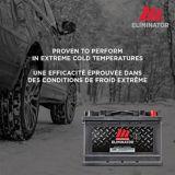 Batterie MotoMaster Eliminator AGM, groupe 34, 750 ADF | MotoMaster Eliminatornull