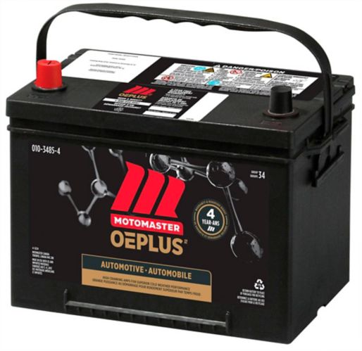 MOTOMASTER OEPLUS Group Size 34 Battery, 800 CCA Product image